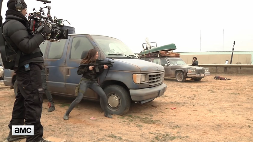 Feature: 'Fear the Walking Dead' – Making of Episode 407 'The Wrong Side of Where You Are Now'